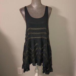Free People blue dress in xs